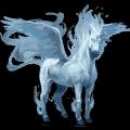 winged unicorn air element