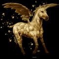 winged unicorn earth element