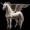 winged unicorn metal element