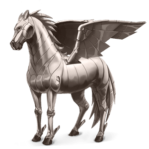 pegasus pony metal element