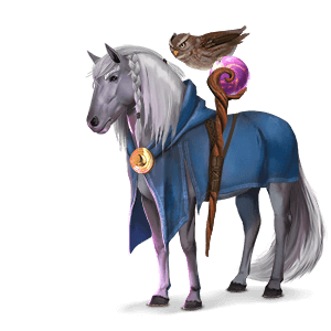 riding unicorn enchanter