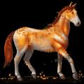 gemstone horse amber