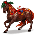 divine horse christmas pudding