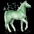 gemstone horse jade