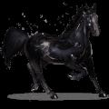 gemstone horse onyx