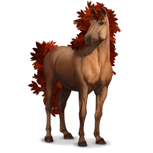 seasons horse fall