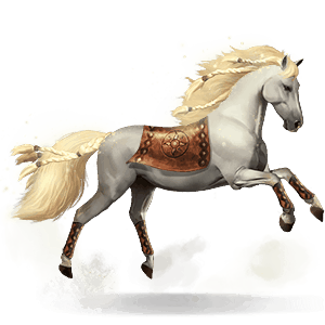 mythological horse gullfaxi