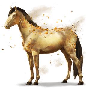 gemstone horse gypsum